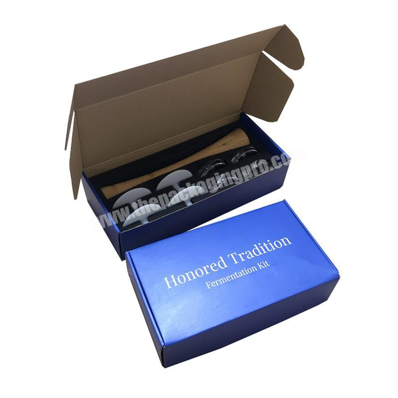 Box packaging custom size mailer box
