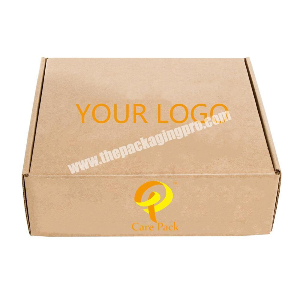 c4 c5 c6 c7 size file packaging moving boxes Pop Up Brown postal boxed