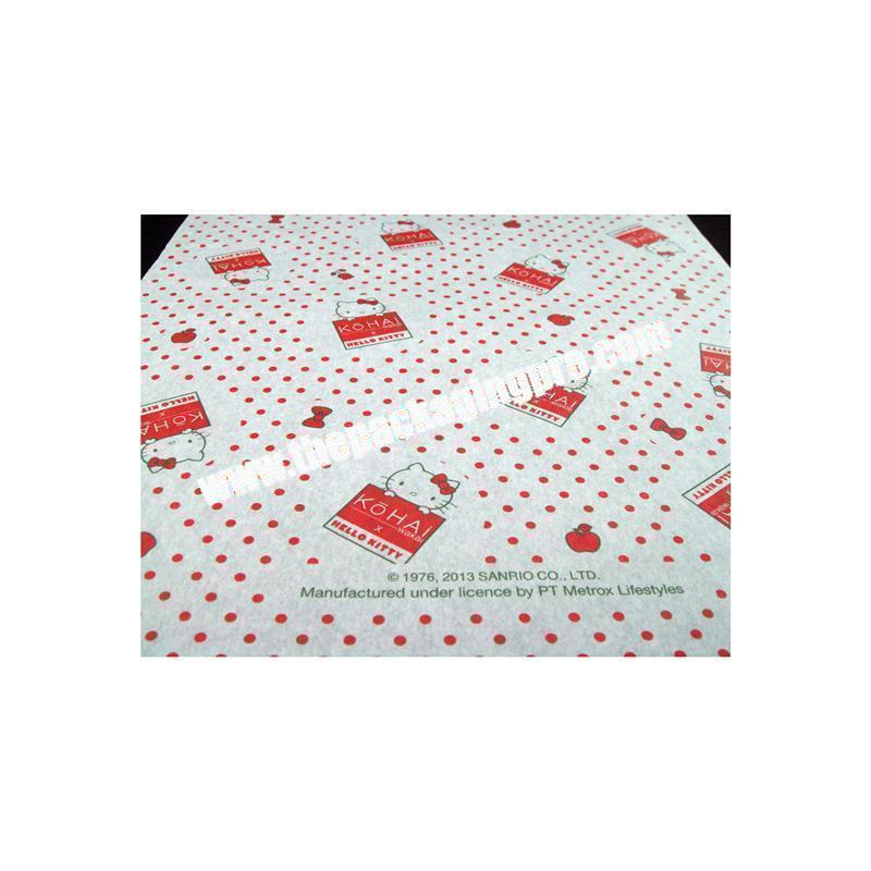 Cheap custom design gift tissue paper
