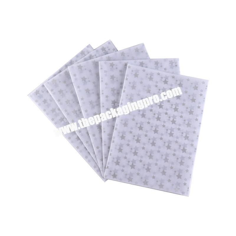 Cheap custom design gift tissue paper
