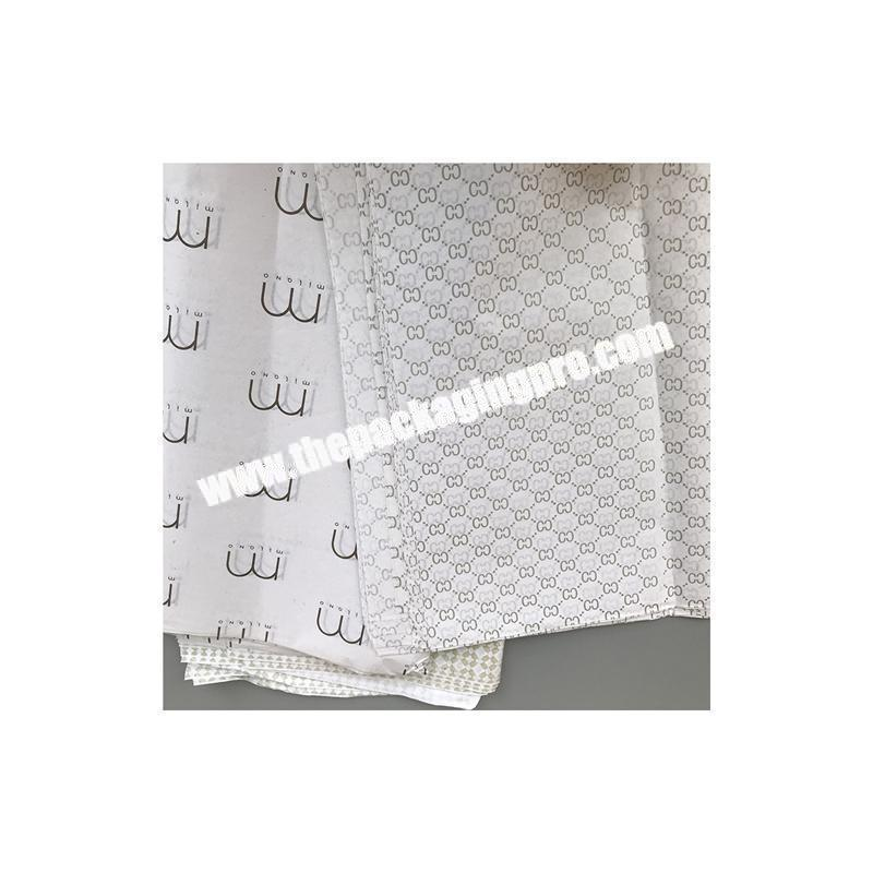 Manufacturer Cheap custom design printed wrapping paper tissue