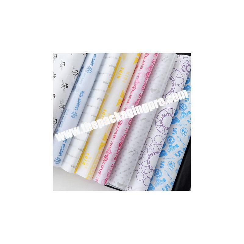 Cheap custom fancy custom tissue wrapping paper