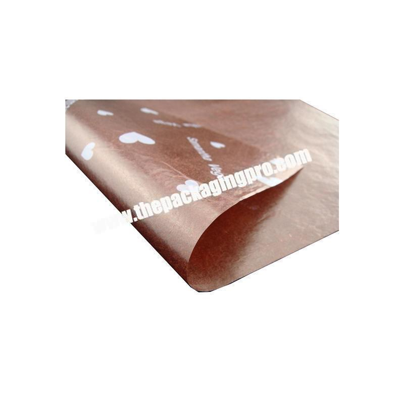 Factory Cheap custom fancy high quality pink tissue paper