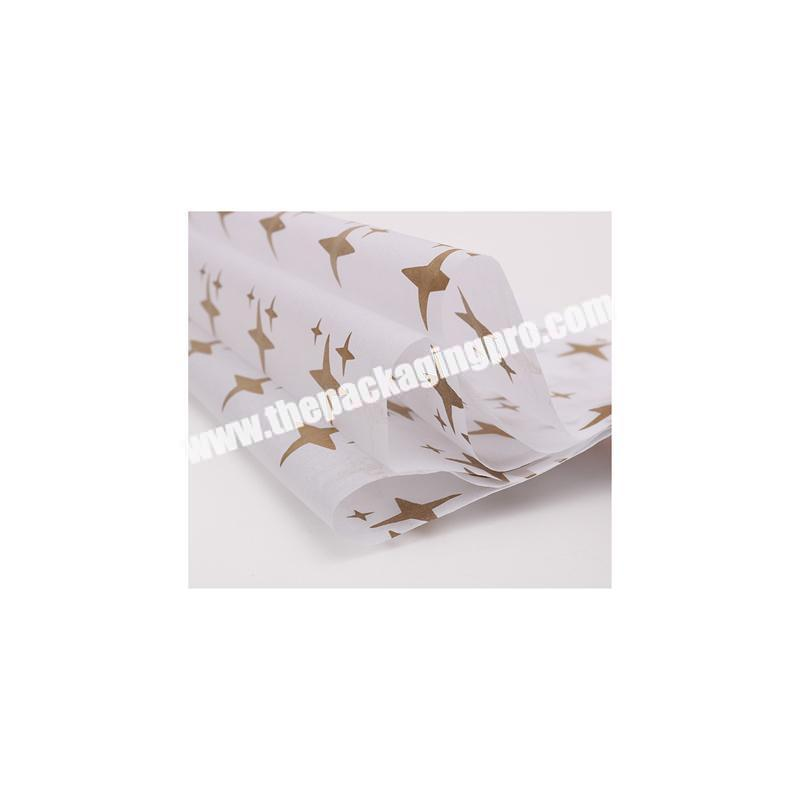 Cheap custom high quality white tissue paper