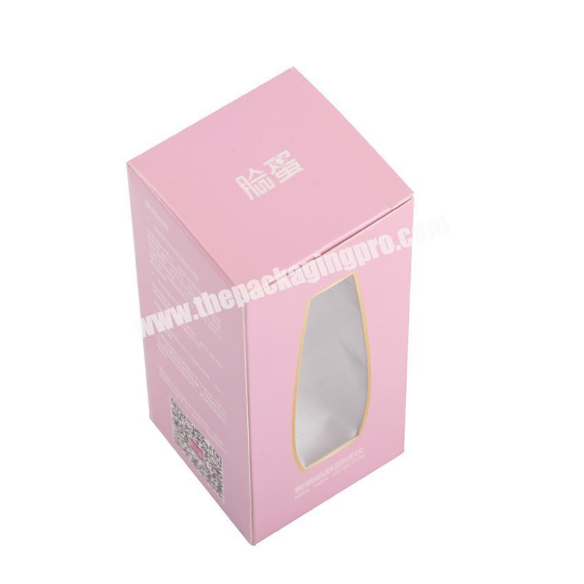 Wholesale Cheap Custom Logo Color Printed Small Product Flat Pack Cosmetic Card Paper Packaging Box for Perfume