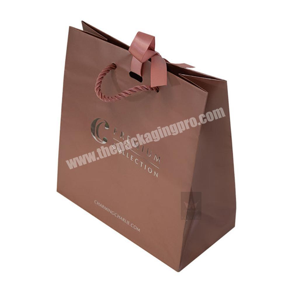 Cheap Custom Printed Luxury Wholesale Paper Shopping BagLow Cost Paper BagColor Paper Bag Supplier