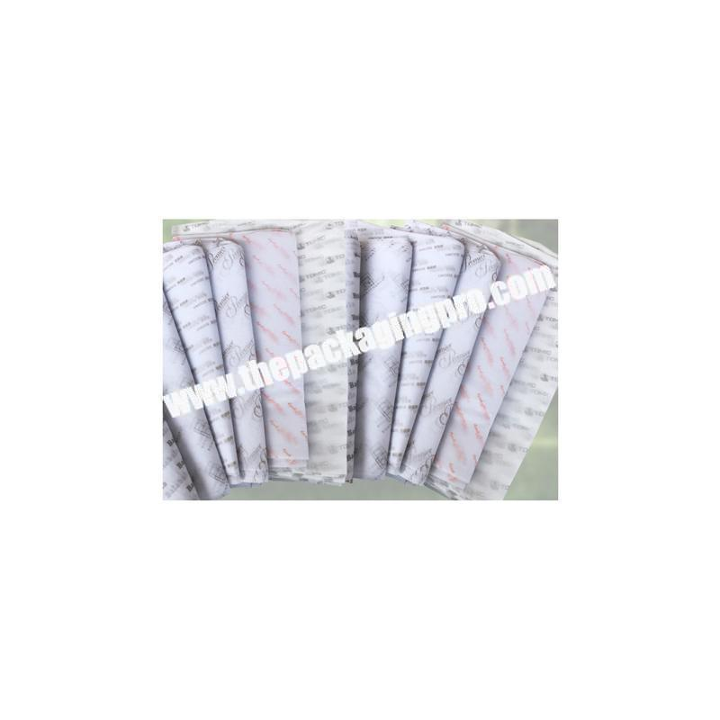 Wholesale Cheap custom printing packing tissue paper