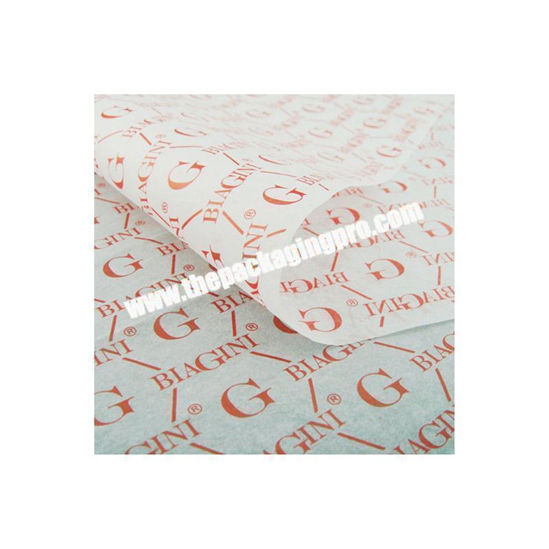 Supplier Cheap custom tissue paper printed