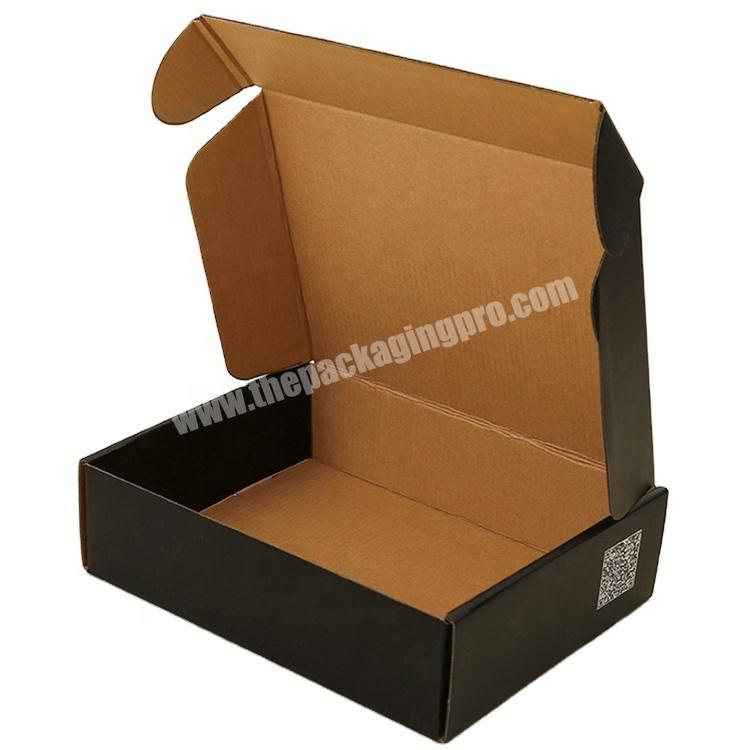 Cheap packaging shipping boxes cardboard custom cloth box mailing corrugated carton box