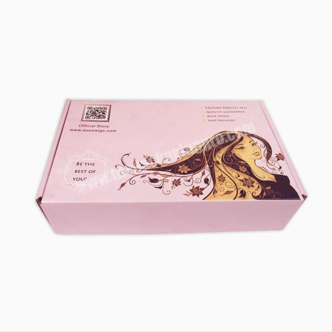 Cheap Price Packing Box For Hair With Paper Collection Box
