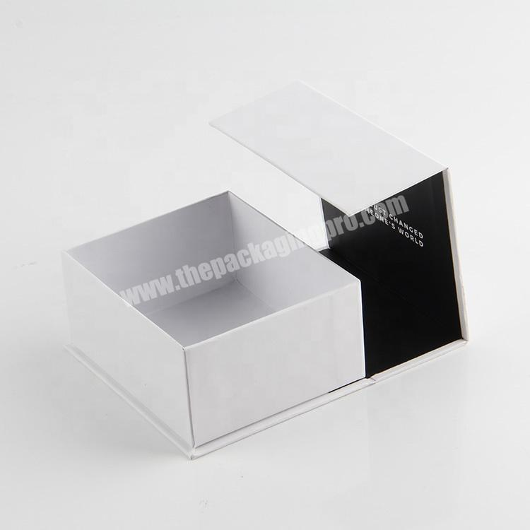 Supplier china a4 dimensions  luxury cosmetic packaging magnet clamshell paper box oem wholesale