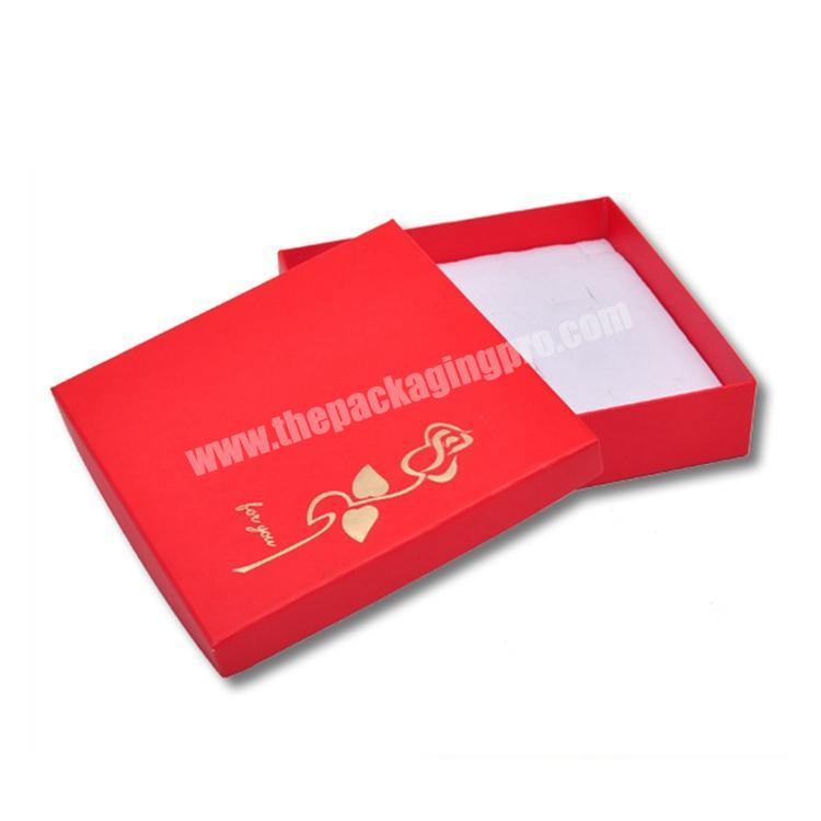 China Factory Supply Paper Clothing Box With custom logo