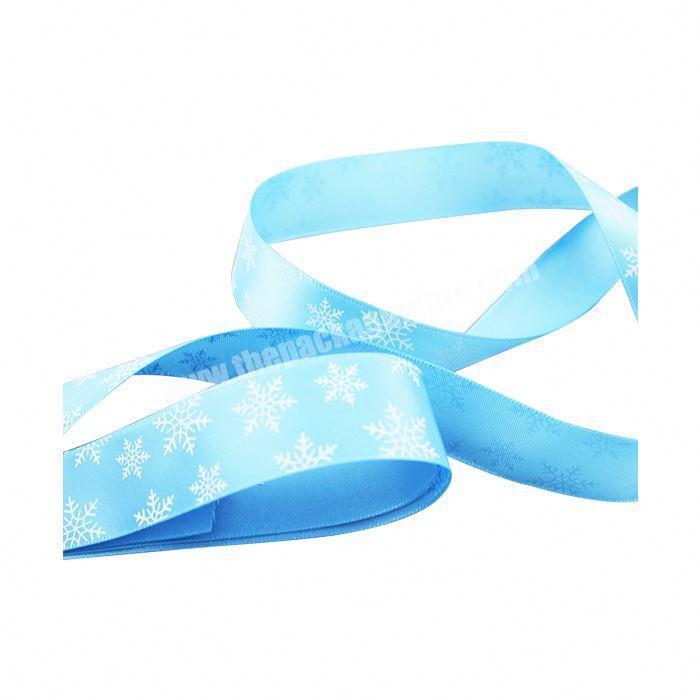 Shop China factory wholesale custom logo printed polyester satin ribbon bow