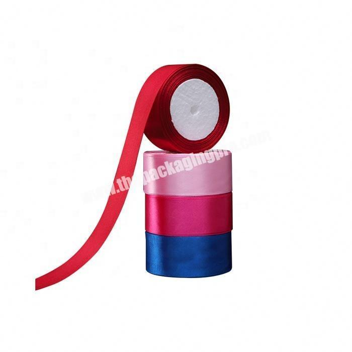 Supplier China factory wholesale polyester 5 inch satin ribbon flowers for gift packing