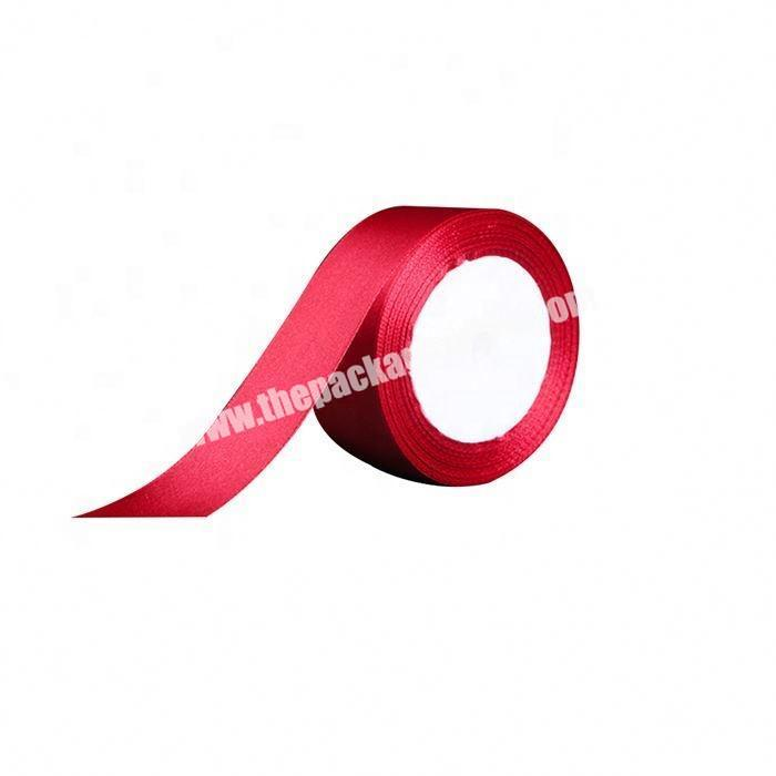 Factory China factory wholesale polyester 5 inch satin ribbon flowers for gift packing
