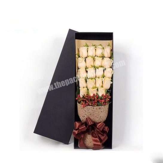 China Manufacturing Luxury Paper Tube Gift Packaging Box for Flowers