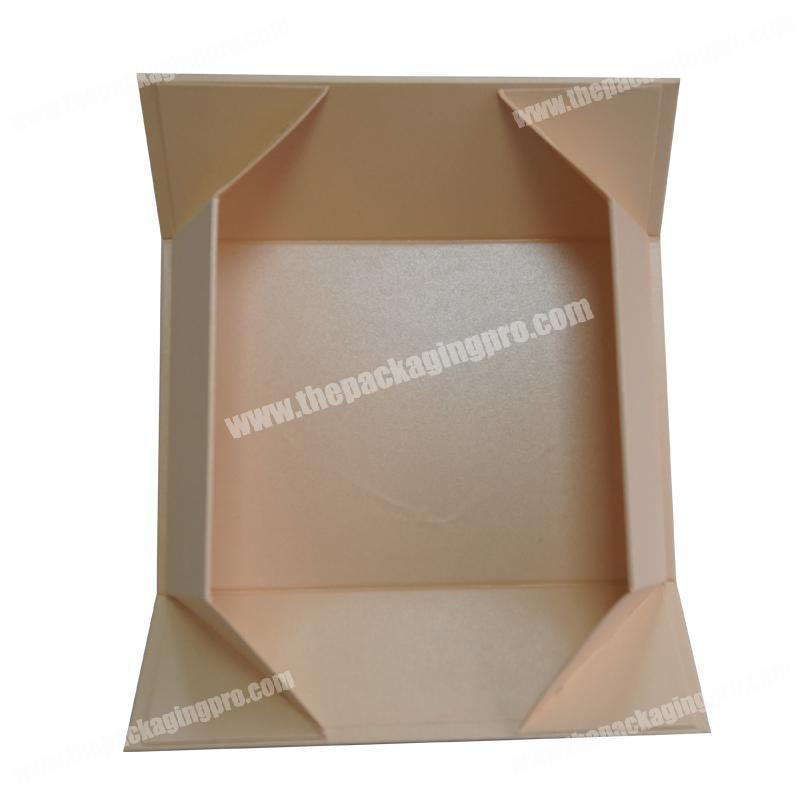 China Products Private Brand Printing  Cardboard Flip Top Magnetic Closure Foldable  Gift Box Packaging