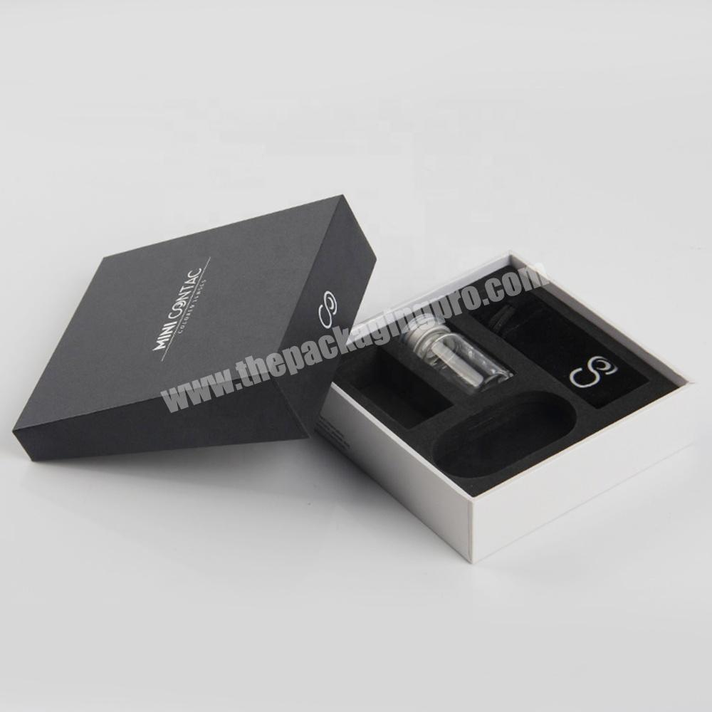 China supplier luxury cosmetic packaging for perfume bottle box