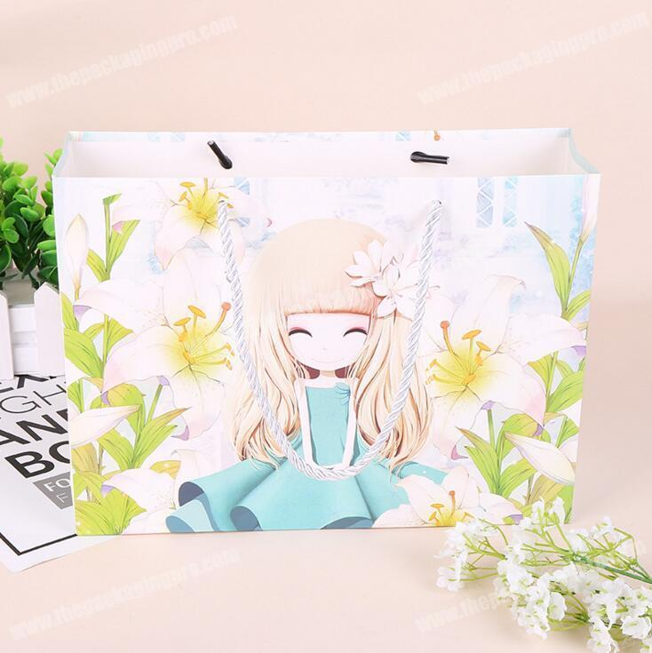 China suppliers products eco friendly custom cosmetic paper bag