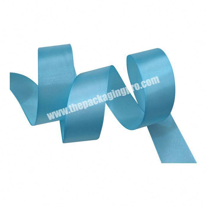 Custom China Wholesale High Quality Polyester Ribbon Satin Logo