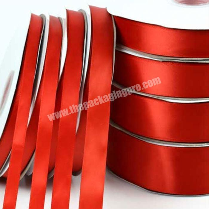 China Wholesale High Quality Satin Ribbon For Gift Packing