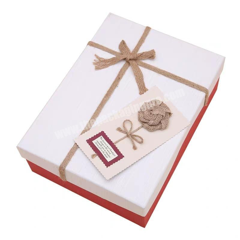 Chinese factory wholesale gift paper packing box