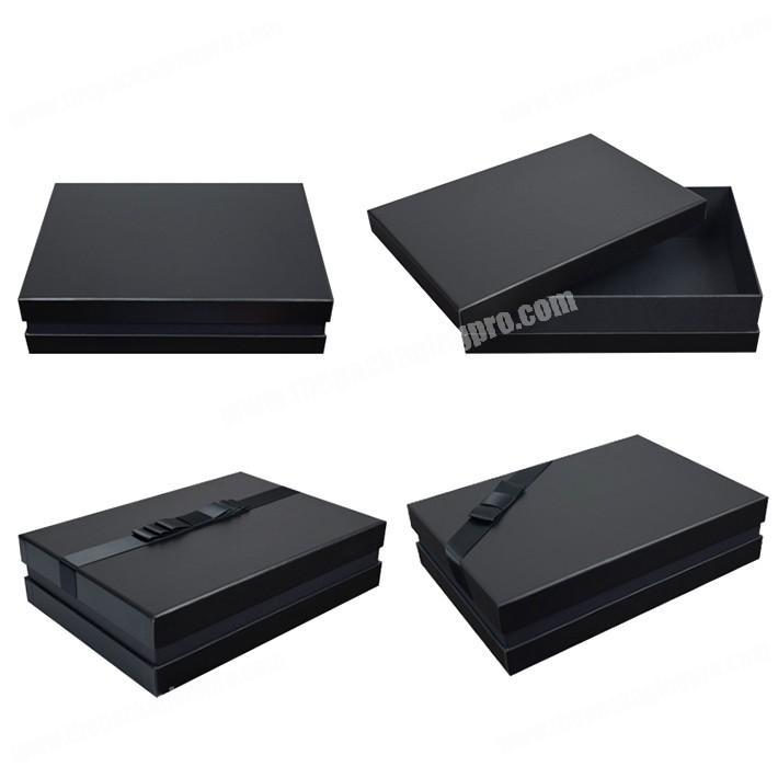 Chinese Supplier Luxury Paper Board Lid and Bottom Box Gift Packaging for Hair Extension, Wig Bundle Box