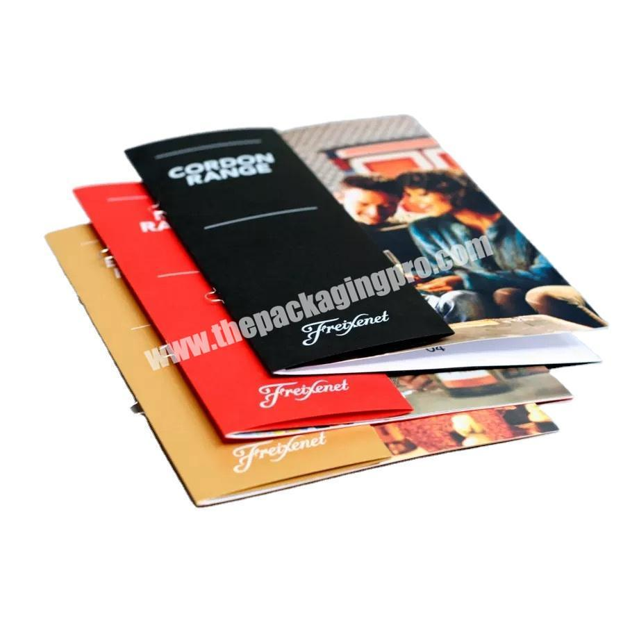 Christmas gift Custom Full Color BrochureLeafletCatalogueBooklet Magazine printing,cheap brochure,brochure printing service