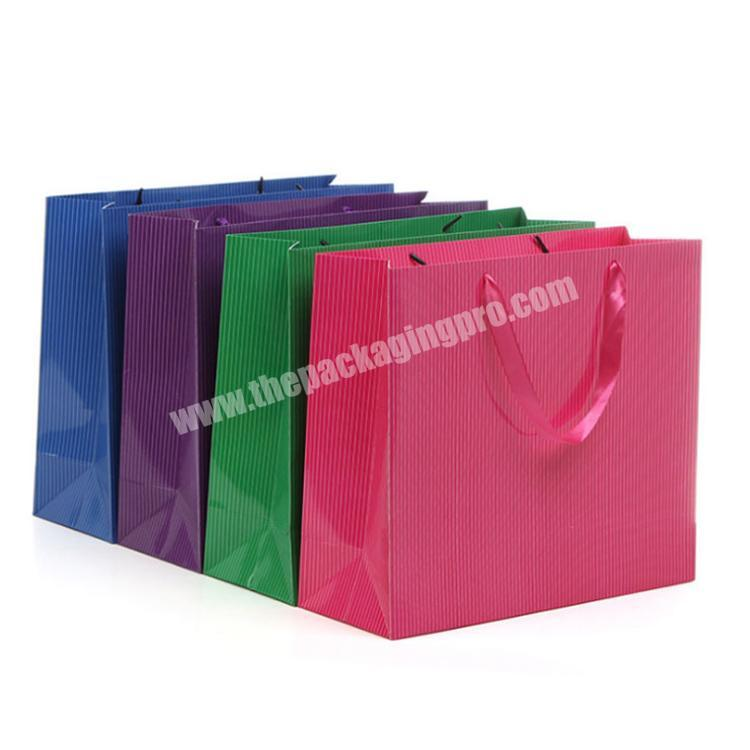 clothing packaging bags custom bags with logo christmas paper bags