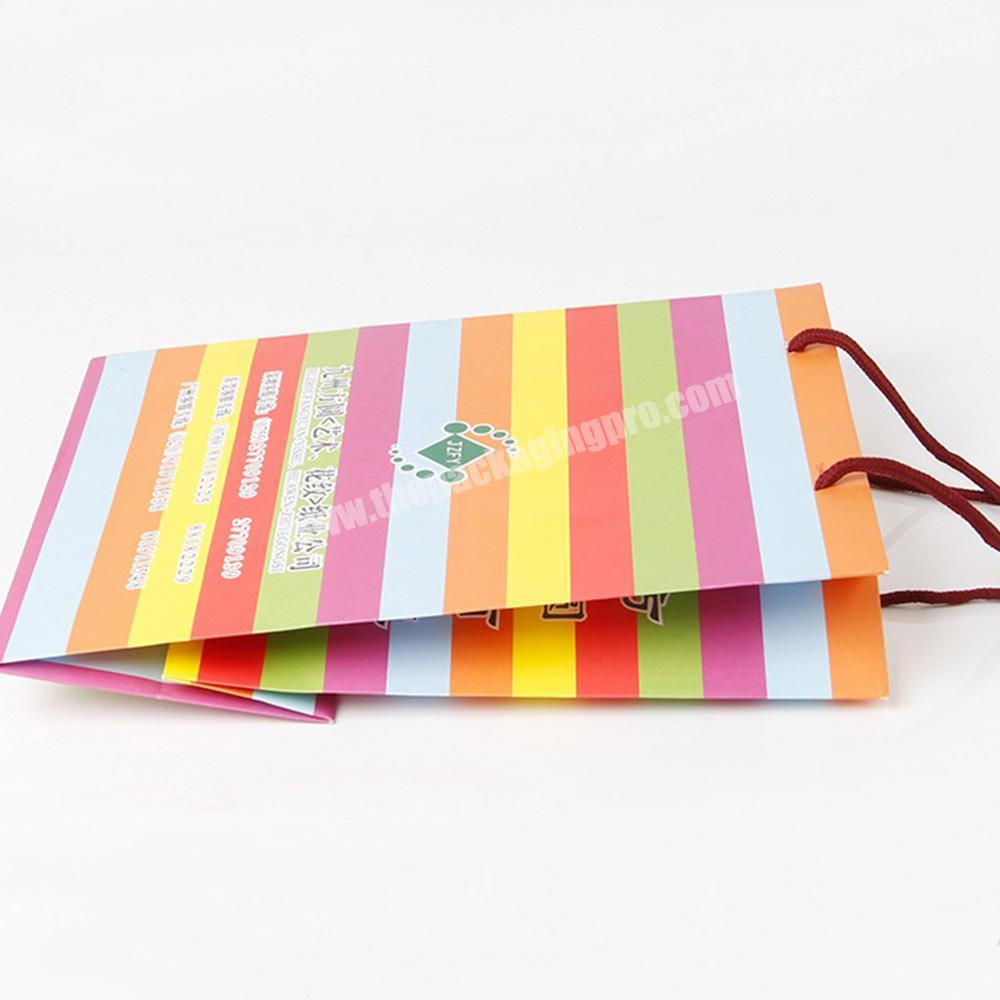 clothing paper bag storage paper beauty product packaging