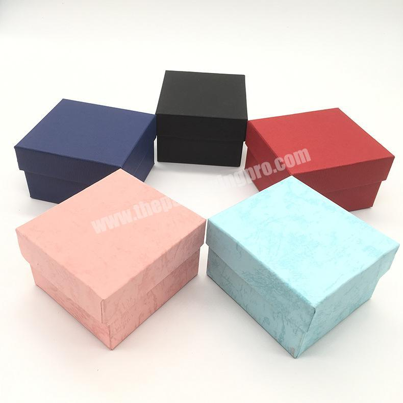 Colorful High-End Hot Selling box for gift Jewelry Gift Box Useful Necklace earring watch box Packaging