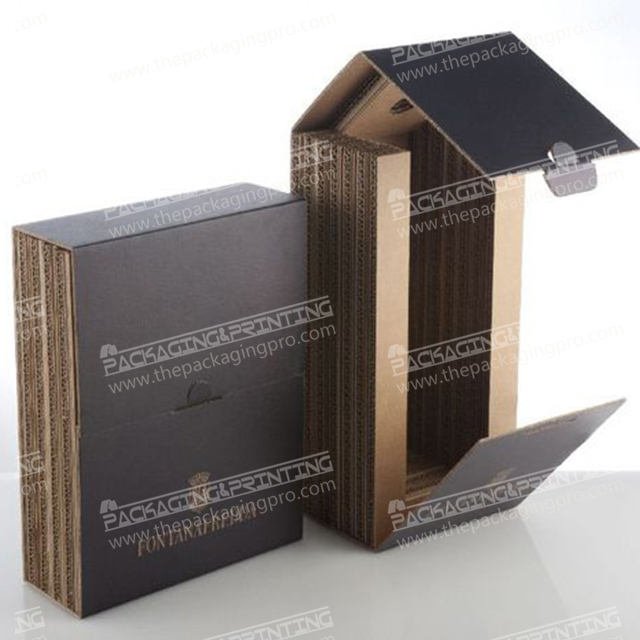 Custom Begie Production Box Packaging With Logo