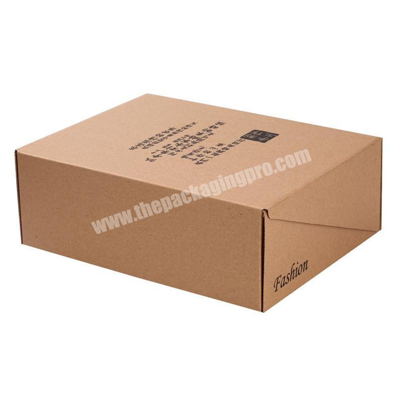 corrugated paper box jewelry box for shipping transport boxes