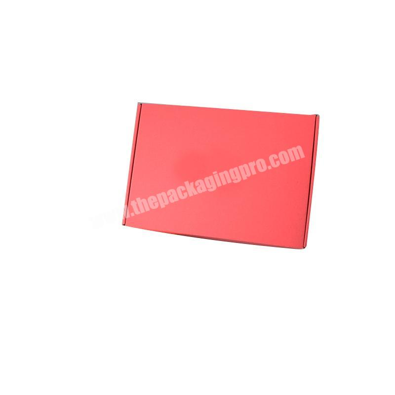 Supplier corrugated paper box shipping boxes small custom logo transport boxes