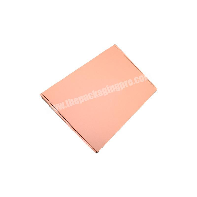 Factory corrugated paper box shipping boxes small custom logo transport boxes