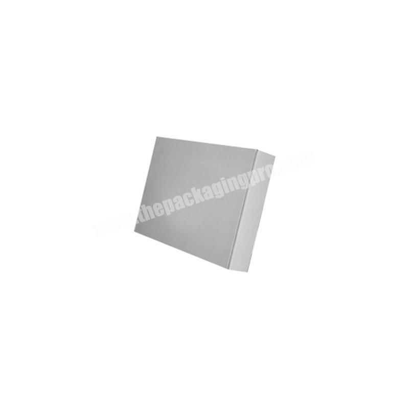 Wholesale corrugated paper box shipping boxes small custom logo transport boxes