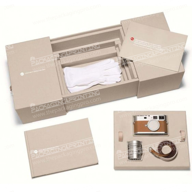 Cream Colored-Cream- Packaging Box