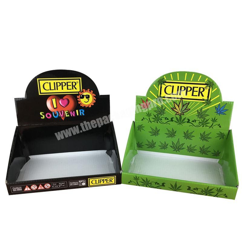 Manufacturer crepack counter top display tray display stand