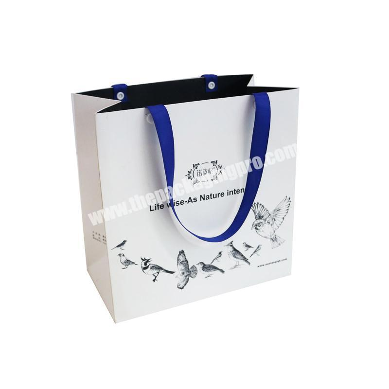 custom biodegradable paper christmas gift women hand bags sports shoes gift paper bags