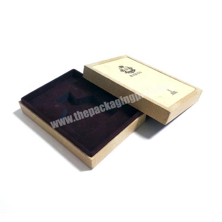 Wholesale Custom branded perfume sample display box packaging luxury with sponge insert