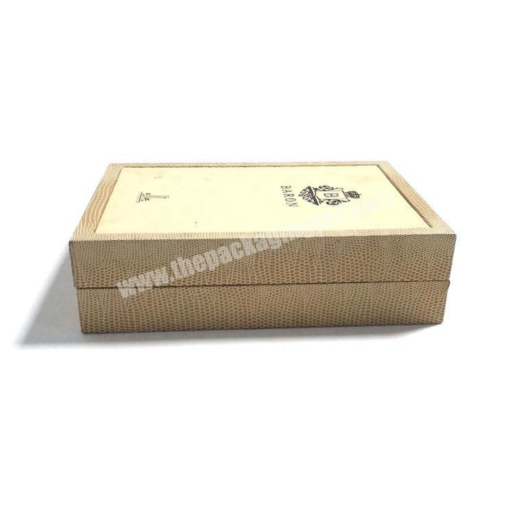 Supplier Custom branded perfume sample display box packaging luxury with sponge insert