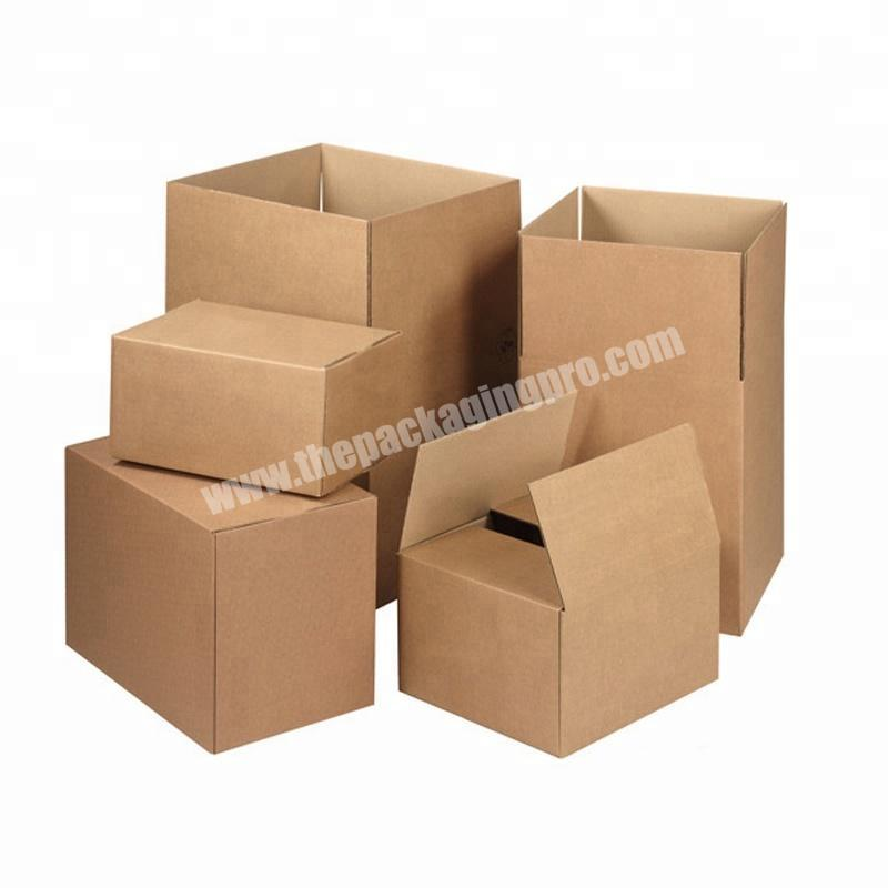 Custom Cardboard Packaging Mailing Moving Shipping Boxes Corrugated Carton Box