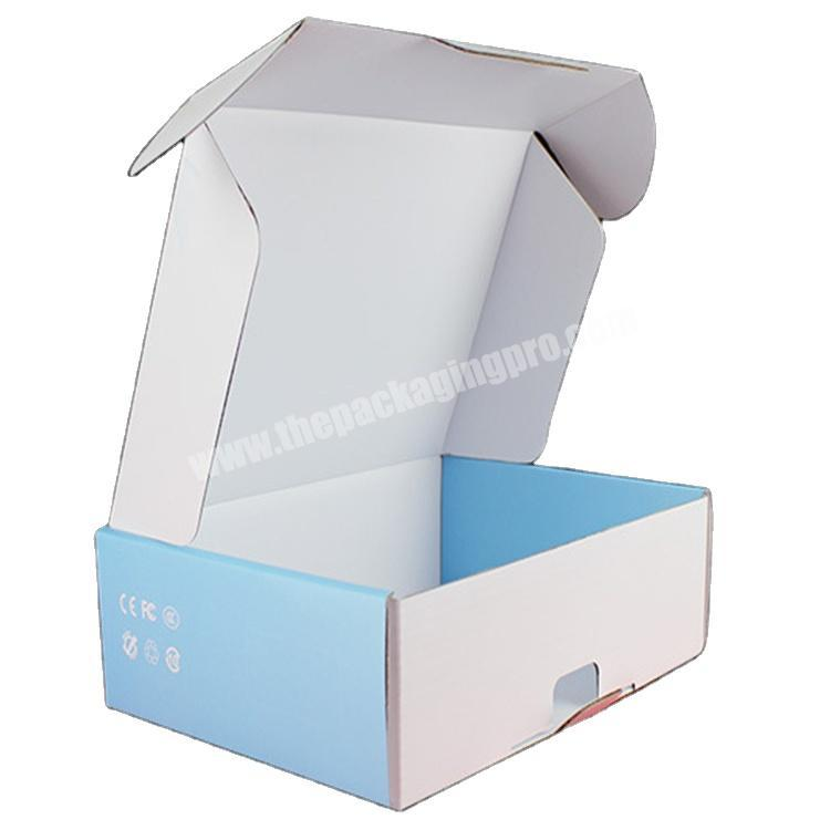 custom corrugated boxes shipping clothing box