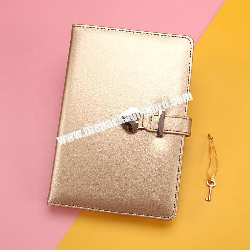 Manufacturer Custom Cute Stationery Refillable Ring Binding Notebooks Gift Set School Office Pu Leather Hardcover Notebook With Box And Pen