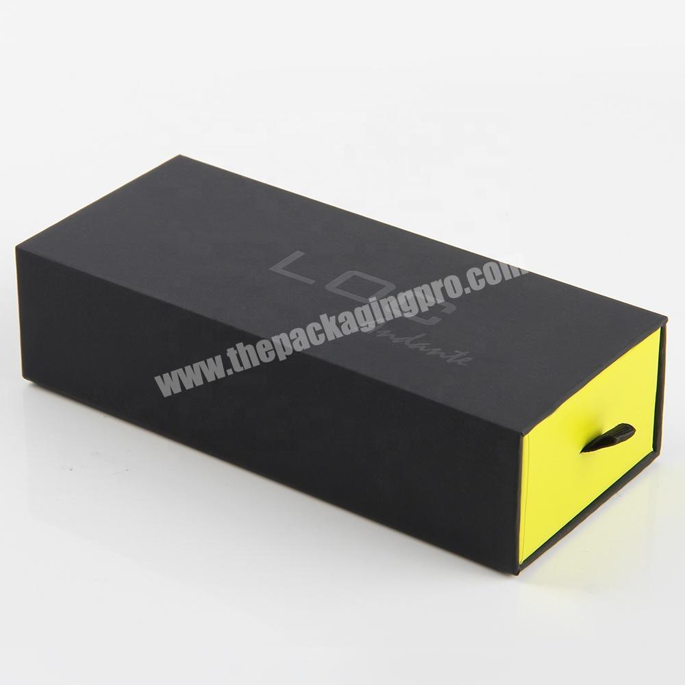 Wholesale custom  decorative false eyelashes  match box cosmetic sample packaging