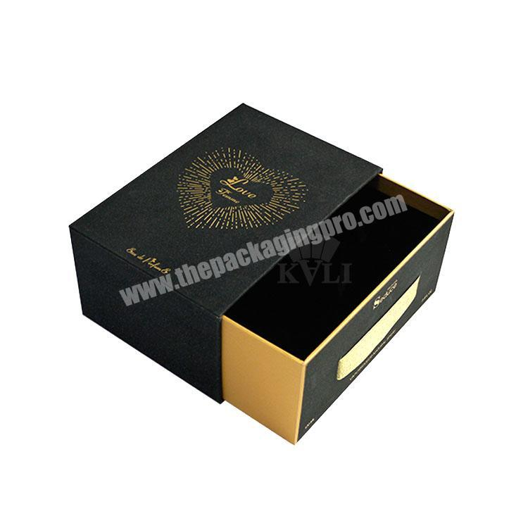Custom Custom Decorative Luxury Perfume Packaging Boxes With Gold Stamping Logo Perfume box