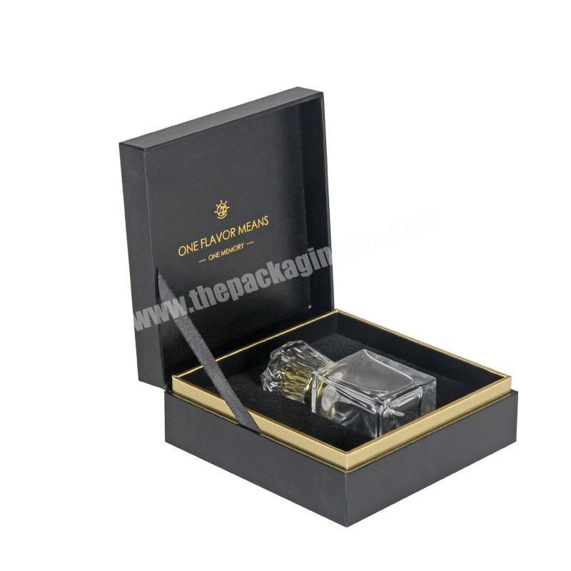 Custom Decorative Luxury Perfume Packaging Boxes With Gold Stamping Logo Perfume box