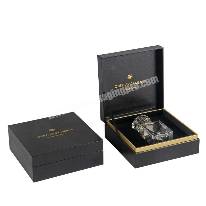 Wholesale Custom Decorative Luxury Perfume Packaging Boxes With Gold Stamping Logo Perfume box