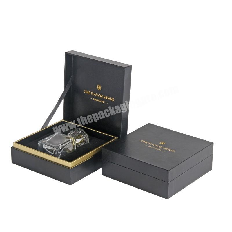 Manufacturer Custom Decorative Luxury Perfume Packaging Boxes With Gold Stamping Logo Perfume box