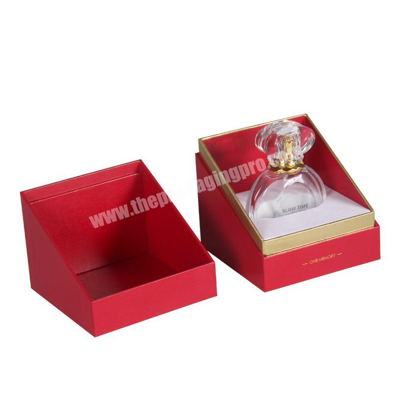 Custom Decorative Luxury Scent Perfume Packaging Gift Boxes With Perfume Box